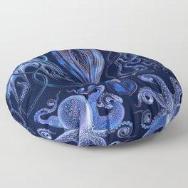 Haeckel Octopi Floor Pillow