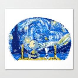 Friends of stars Canvas Print