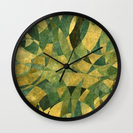 Abstract Life 001 Wall Clock