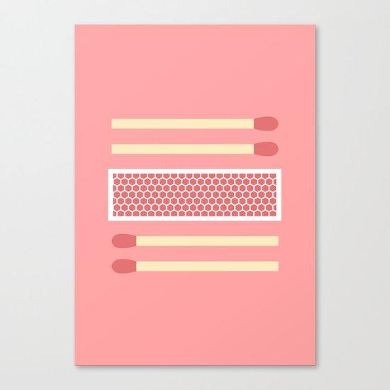 #75 Matches Canvas Print