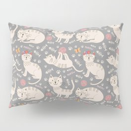 Kute Kitty Kats Pillow Sham
