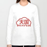 heaven Long Sleeve T-shirts featuring Heaven by biblebox