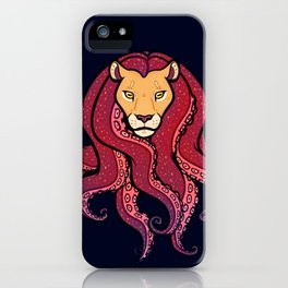 Octolion iPhone Case