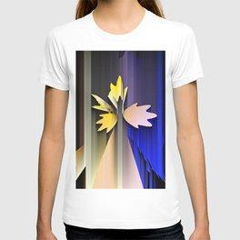 Lightning leaves spectrum T-shirt