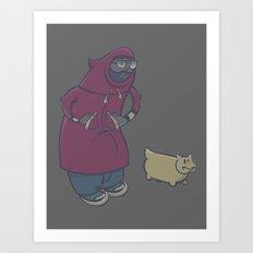 Fogwalk Art Print