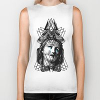 pain Biker Tanks featuring PAIN by DIVIDUS