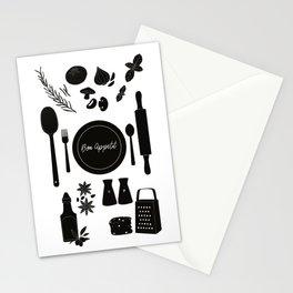 Bon Appetit Illustration Stationery Cards