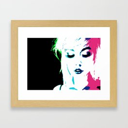 Pucker Framed Art Print
