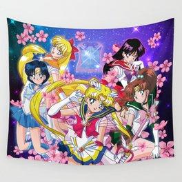 Super Inner Senshi Wall Tapestry