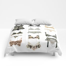 Lingerie Collage Comforters