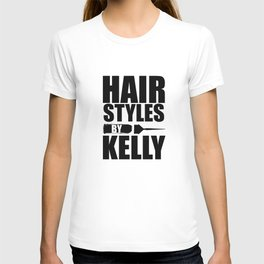Hairstyles by Kelly Logo T-shirt