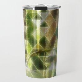 Cactus Garden Art Triangles 2 Travel Mug