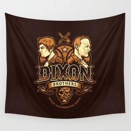 Dixon Brothers Walker Extermination Wall Tapestry