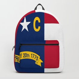 flag of north carolina-south,america,usa,Old North State,Tar Heel,North Carolinian,Charlotte,Raleigh Backpack