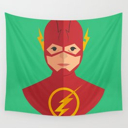 flat for flash Wall Tapestry