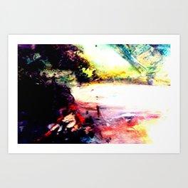 Lady of The Lake Art Print