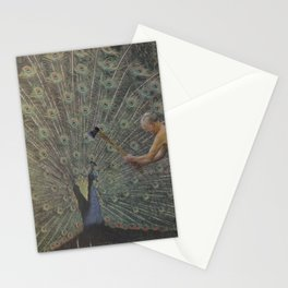 Beheading of the Peacock Stationery Cards