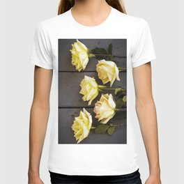 Country Yellow Roses T-shirt