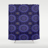 rave Shower Curtains featuring Rave by Katie Duker