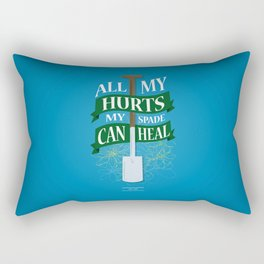 All My Hurts Rectangular Pillow