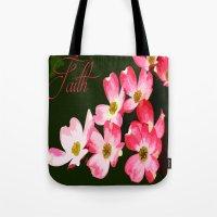 faith Tote Bags featuring faith by Shea33