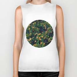 The flower wall Biker Tank