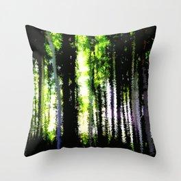 Waldpanorama. Throw Pillow