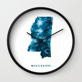 Mississippi Wall Clock