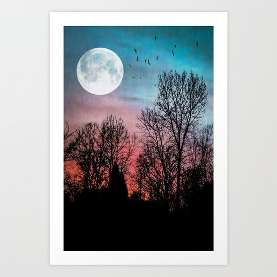Recurring Dreams Art Print