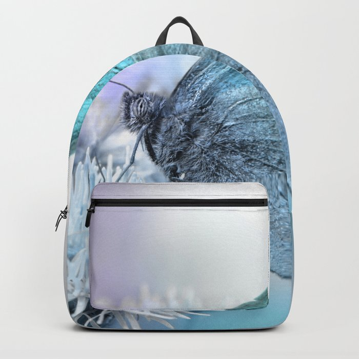 Butterfly blue 71 Backpack