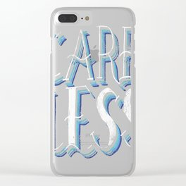 Careless Clear iPhone Case