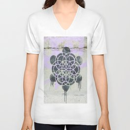 Dripped Unisex V-Neck