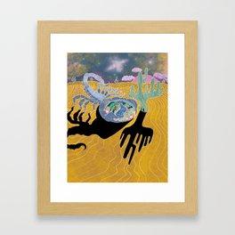 Scorpion Dreams Framed Art Print