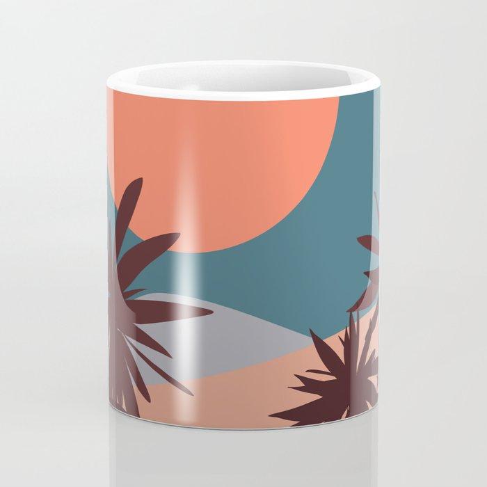 Abstract Landscape 13 Portrait Coffee Mug