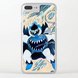 Chaos King Clear iPhone Case