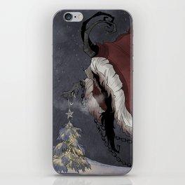 Krampus Christmas iPhone Skin