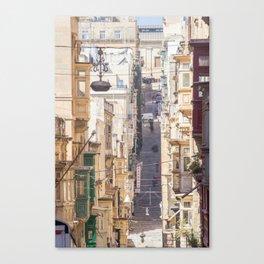 Saint Paul Street in Canvas Print