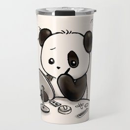 Panda Makeup Travel Mug