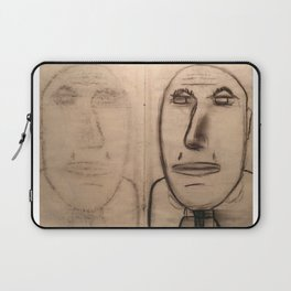 mirror of charcoal Laptop Sleeve