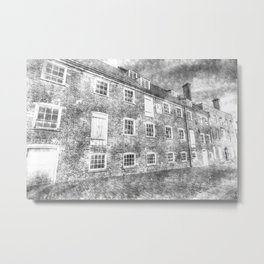 House Mill Bow London Vintage Metal Print