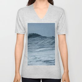 The Breaking Wave Unisex V-Neck