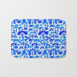 Exotic Garden - Blue Bath Mat