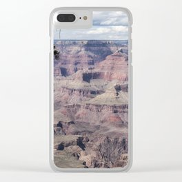 Grand Canyon No. 5 Pano Clear iPhone Case