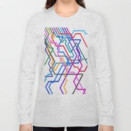 Giant Subways Long Sleeve T-shirt