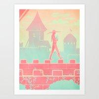 dragon age Art Prints featuring Dragon Age: Cole by Sara Cuervo