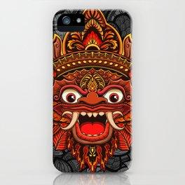 Barong, Balinese mask, Bali mask #2 iPhone Case