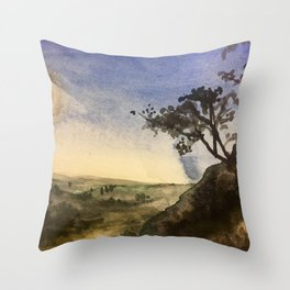Burma View Throw Pillow
