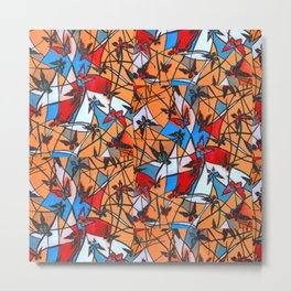 Butterflies Nest          #society 6  #buy art  #decor Metal Print