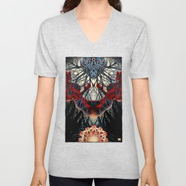 From Where its Roots Run (color) Unisex V-Neck