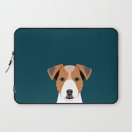 Bailey - Jack Russell Terrier phone case art print gift for dog people Jack Russell Terrier owners Laptop Sleeve